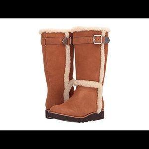 Coach shearling  boots